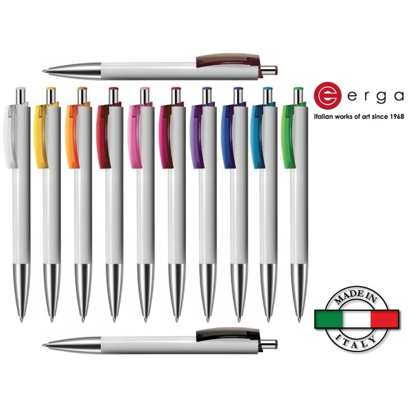 Penna a sfera e-Fifty Flash Erga Made in Italy
