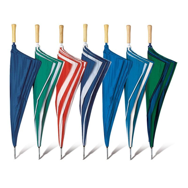 Ombrello golf maxi con manico dritto in legno