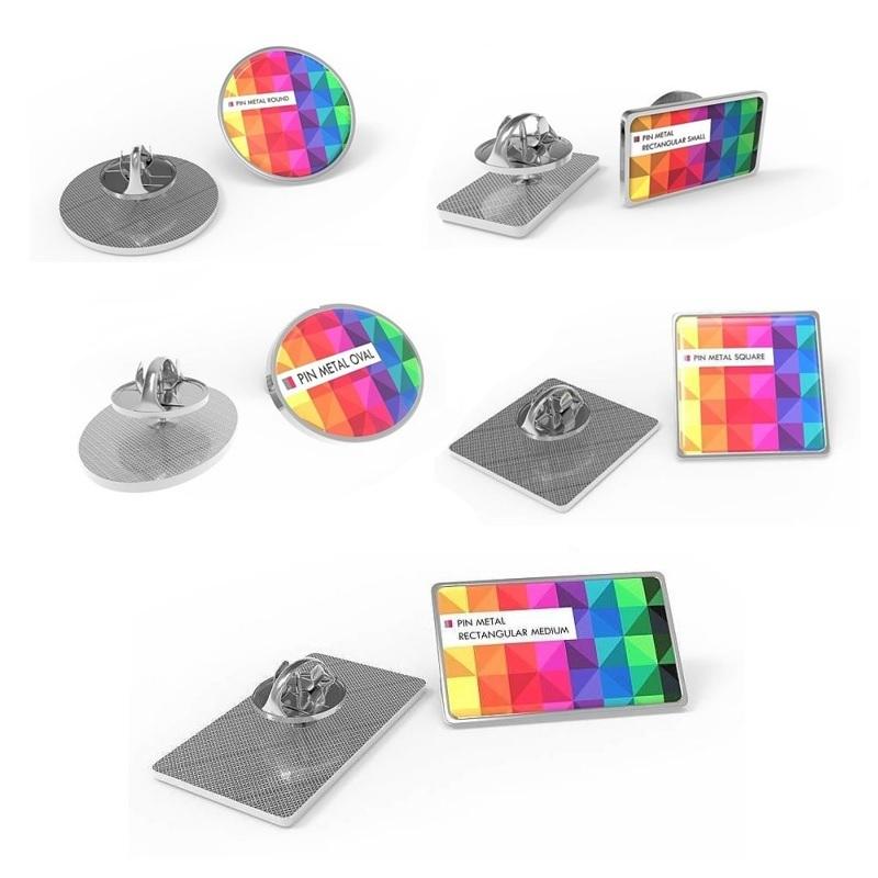 Pin Metal spille in metallo