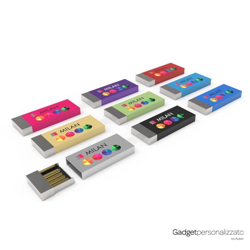 Chiave USB Milan con chiusura magnetica
