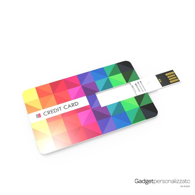 Chiave USB Credit Card