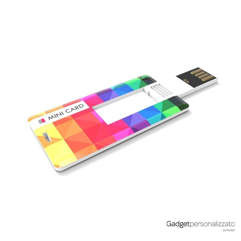 Chiave USB Mini Card