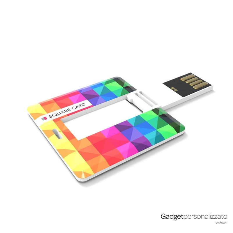 Chiave USB Square Card