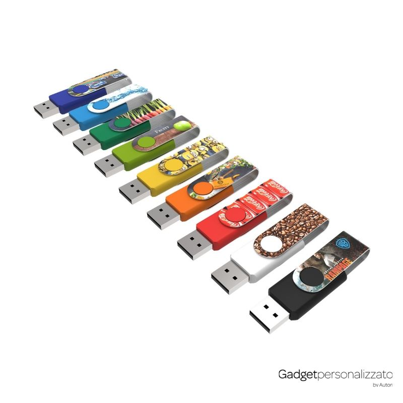 Chiave di memoria USB Twister Max Print