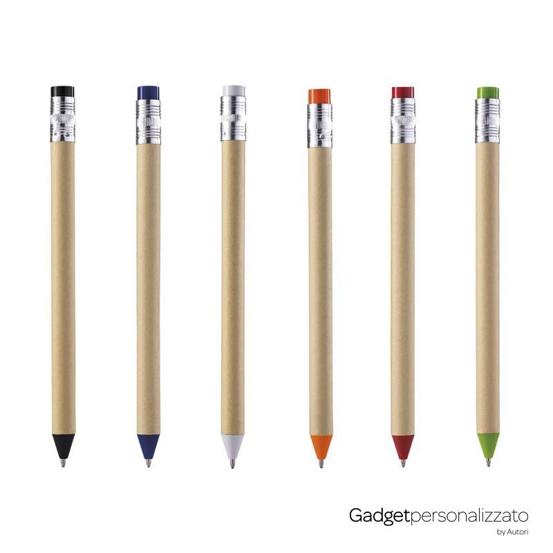 Penna a sfera in cartone riciclato