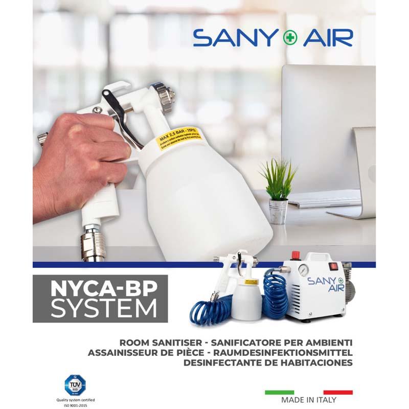 SANY+AIR nebulizzatore per liquidi igienizzanti Made in Italy