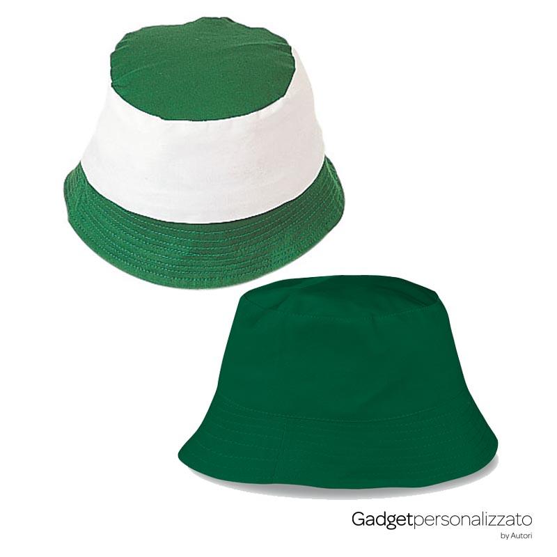Cappellino Miramare in cotone bicolore o tinta unita