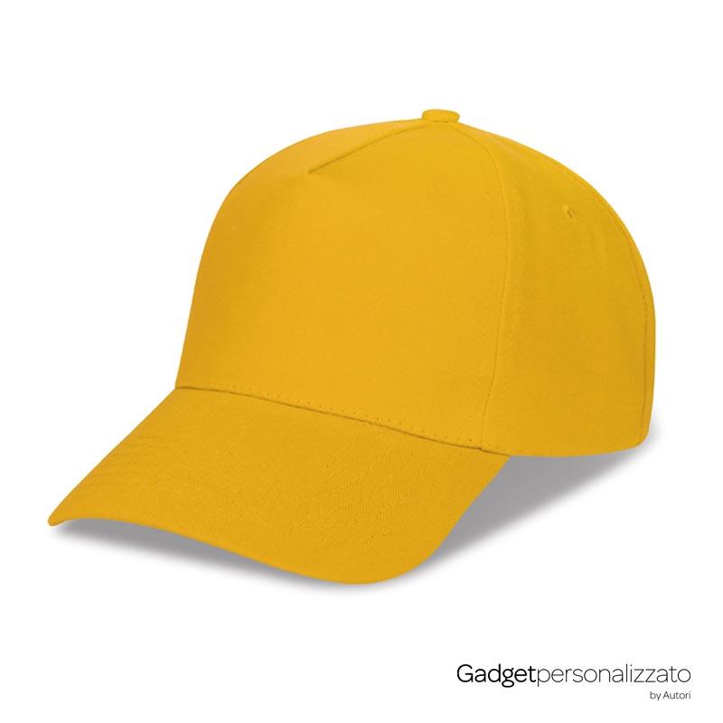 Cappellino Golf 5 pannelli in poliestere pesante