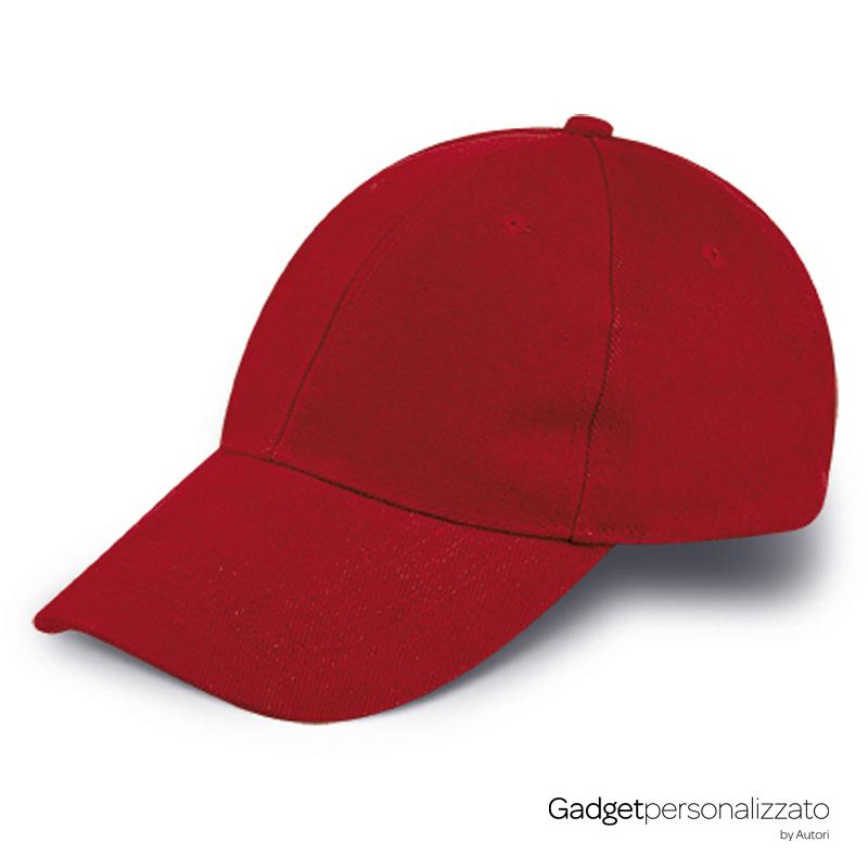 Cappellino 6 pannelli in cotone