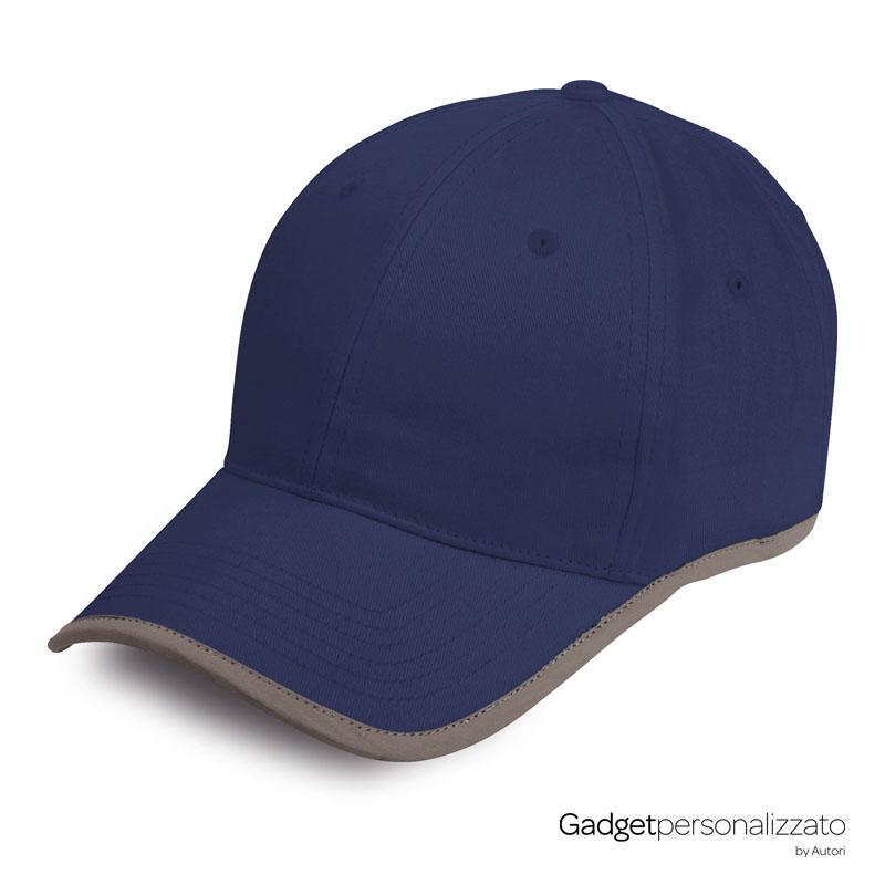 Cappellino 6 pannelli Reflex