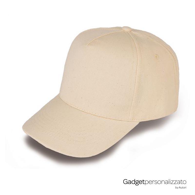 Cappellino Golf 5 pannelli in cotone organico K18110.jpg