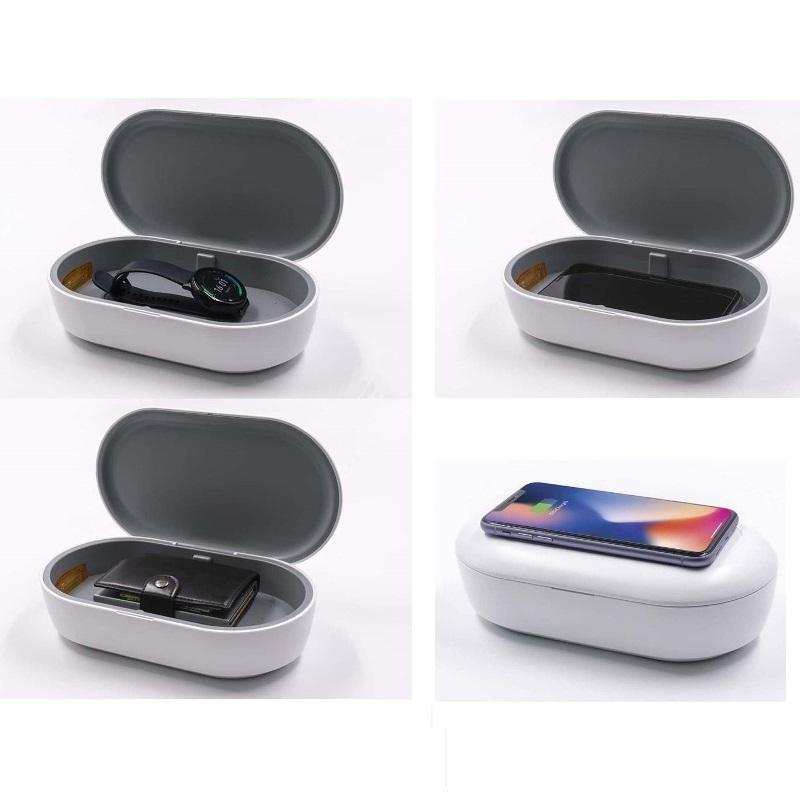 Sterilizzatore UV + ozono UV PowerBox Pro con caricabatterie wireless