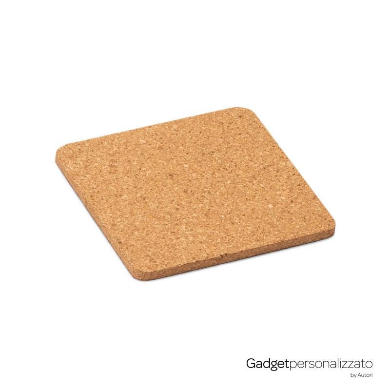 Sottobicchiere quadrato in sughero Garcia