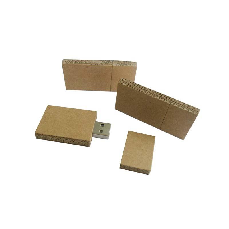 Chiave USB Eco Paper rettangolare