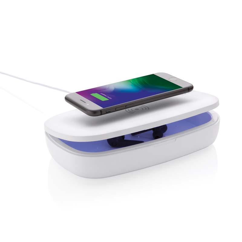 Sterilizzatore UV-C con caricatore wireless