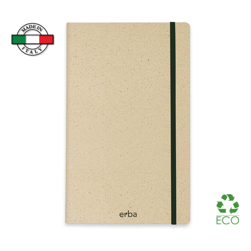 Notes Taccuino Erba Made in Italy