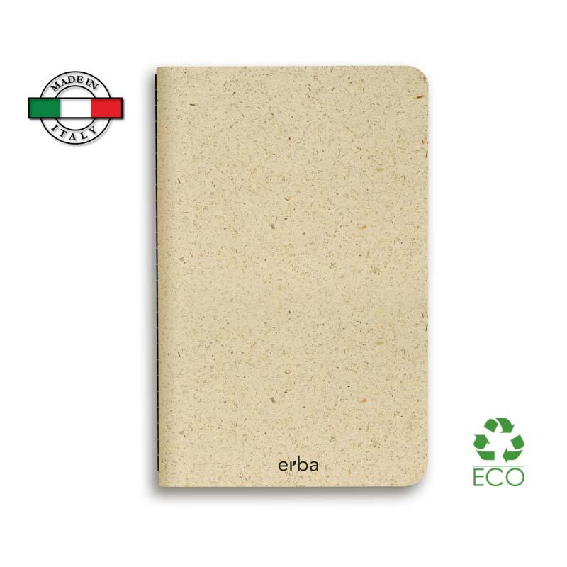 Quaderno Slim Singer Erba Made in Italy