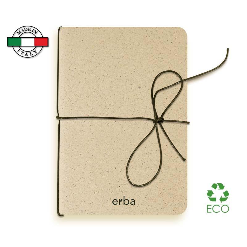 Quaderno Slim Modimò Erba Made in Italy