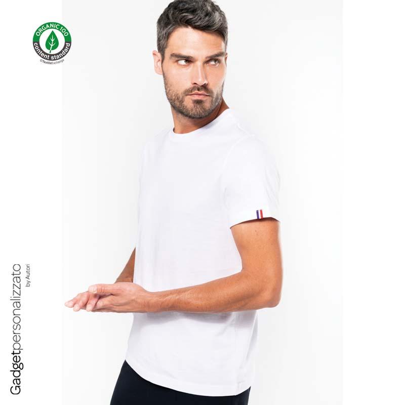 Maglietta uomo 100% cotone organico