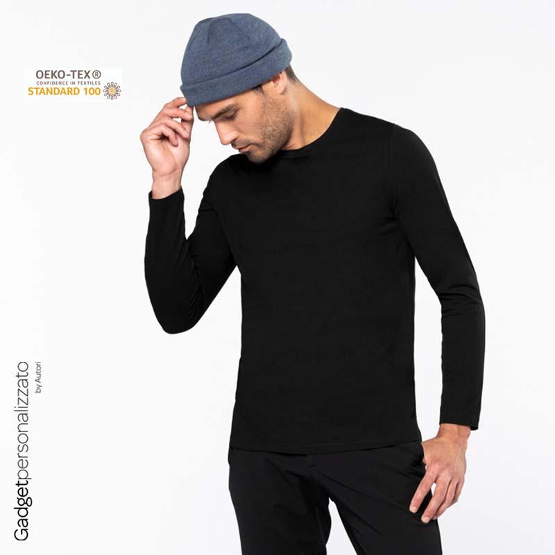 Maglietta uomo a maniche lunghe
