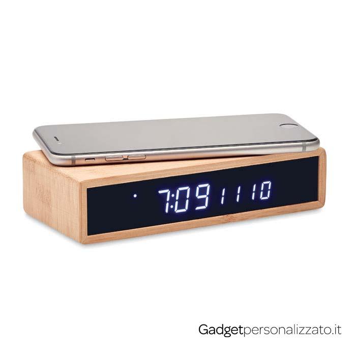 Caricatore wireless con sveglia e display temperatura Moro
