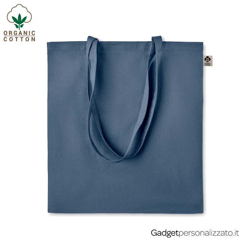 Shopper Zimde Colour in cotone organico 140 gr/m² cm 38x42