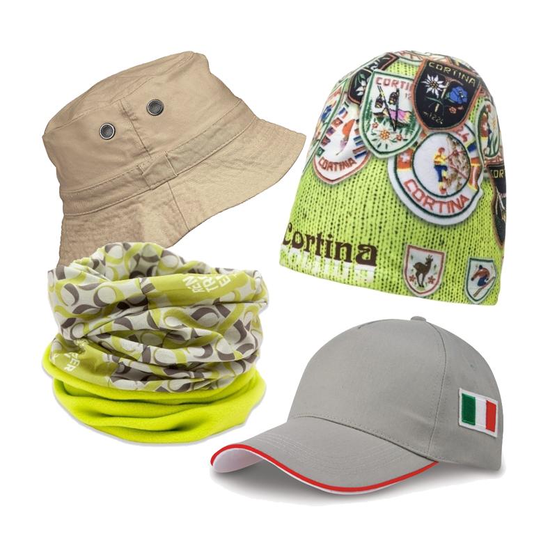 Cappellini, berretti e bandane