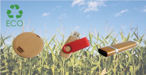 Chiavi USB ecologiche